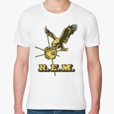 Футболка из органик-хлопка R.E.M.