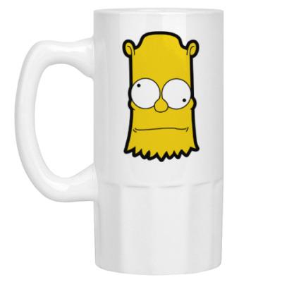 Пивная кружка Crazy Bart