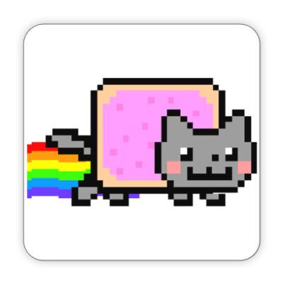 Костер (подставка под кружку) Подставка под кружку NyanCat