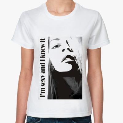 Классическая футболка Girl O
