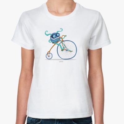 Классическая футболка 'Веломонстр'