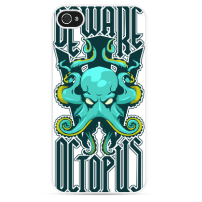 Чехол для iPhone Beware octopus