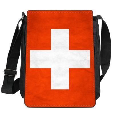 Сумка-планшет Швейцария
