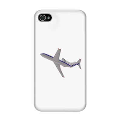 Чехол для iPhone 4/4s Самолет