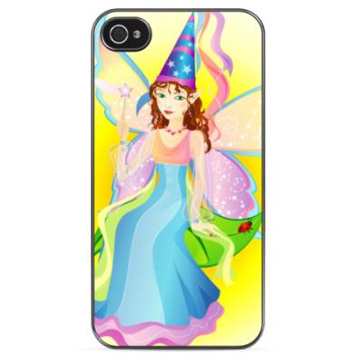 Чехол для iPhone Цветочная фея