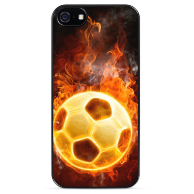 Чехол для iPhone Пламенный мяч