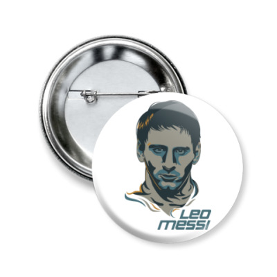 Значок 50мм Leo Messi
