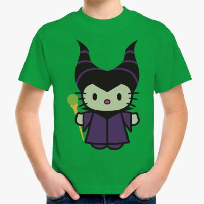 Детская футболка Китти Малефисента