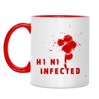 Кружка A_H1N1 Infected