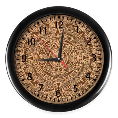 Настенные часы Календарь майя
