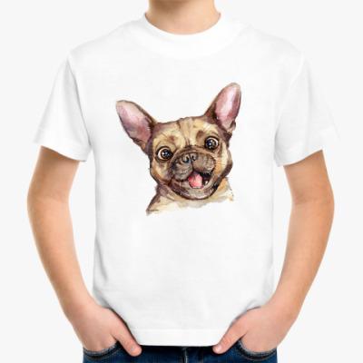 Детская футболка Бульдог