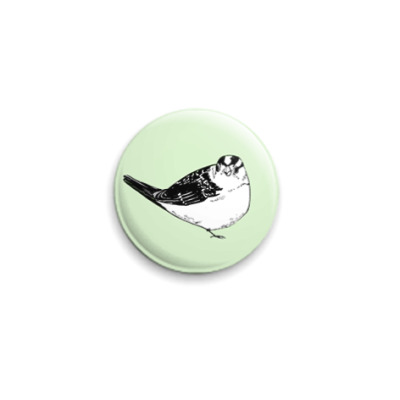 Значок 25мм  Bird