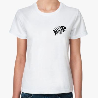 Классическая футболка «Рыба»