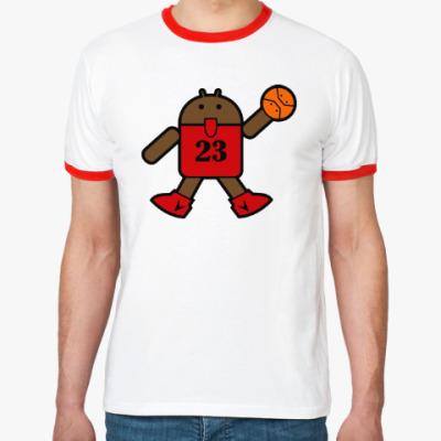 Футболка Ringer-T Jordan Android