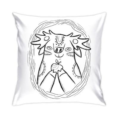Подушка Лось