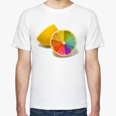 Футболка Разноцветный лимон