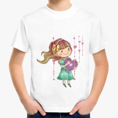 Детская футболка Девочка