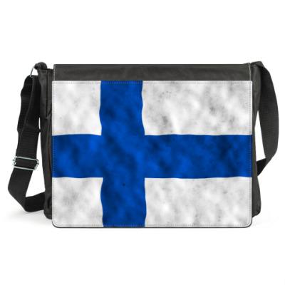 Сумка Флаг Финляндии