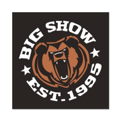 Наклейка (стикер)   big show
