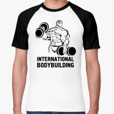 Футболка реглан  bodybuilding
