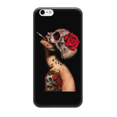 Чехол для iPhone 6/6s Sugar skull girl