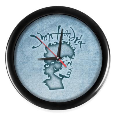Настенные часы Jimi Hendrix