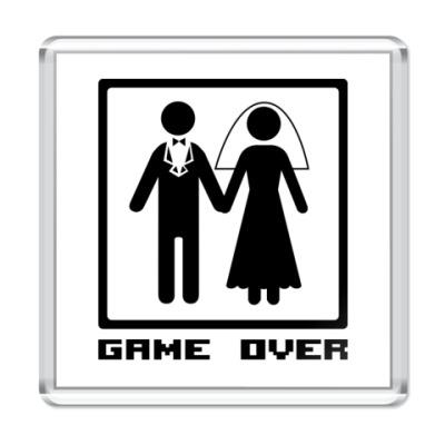 Магнит Game Over