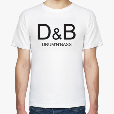 Футболка D&B - drum'n'bass