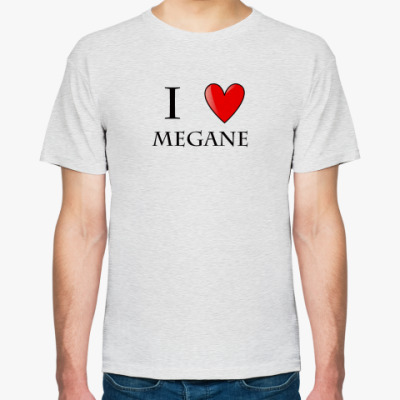 Футболка  I love Megane