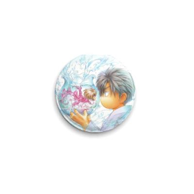 Значок 25мм  Кано/ Аясе(яой)