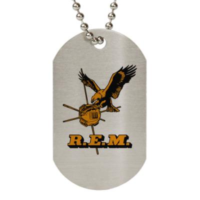 Жетон dog-tag R.E.M.