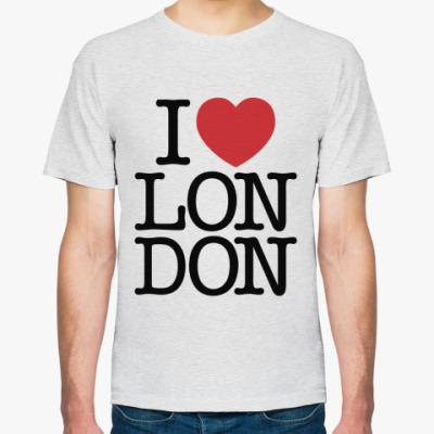 Футболка Я Люблю Лондон