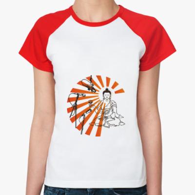 Женская футболка реглан Mass Media Star