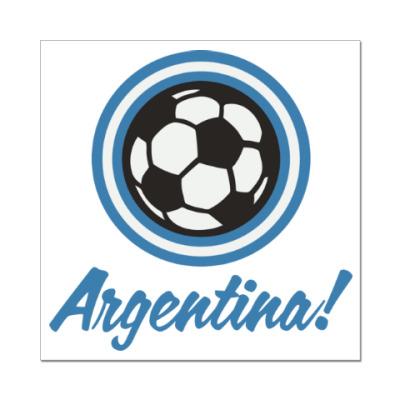 Наклейка (стикер) Аргентина