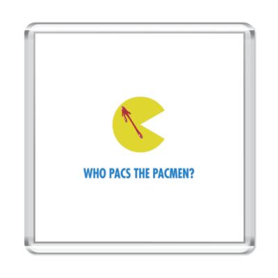 Магнит  Pacmen