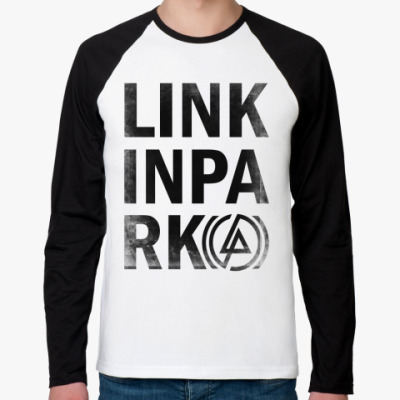 Футболка реглан с длинным рукавом Linkin Park