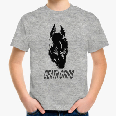 Детская футболка DEATH GRIPS GUILLOTINE (IT GOES YUH!)