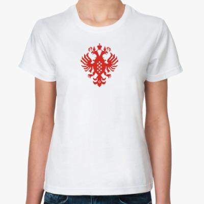 Классическая футболка Герб Российской империи