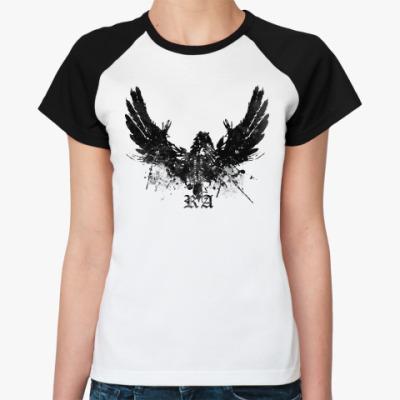 Женская футболка реглан Amen Ra