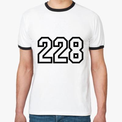Футболка Ringer-T 228