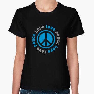 Женская футболка Пацифик