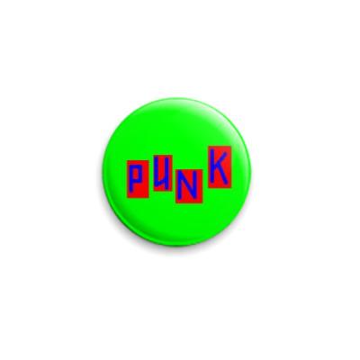 Значок 25мм 'Punk'