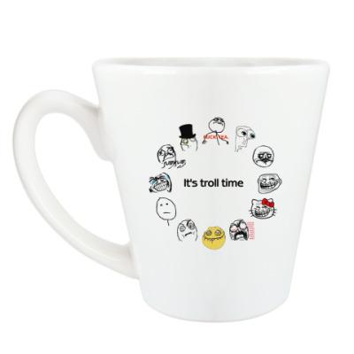 Чашка Латте Trollface
