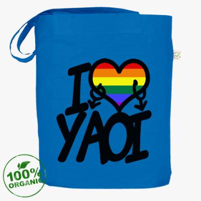 Сумка I love yaoi (Boys' Love)