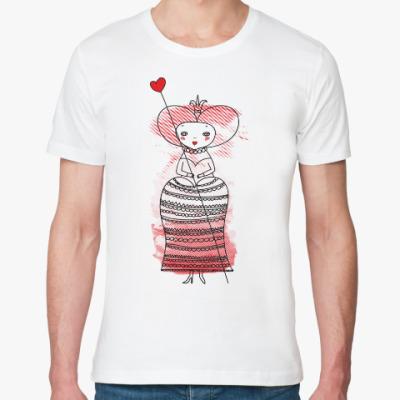 Футболка из органик-хлопка Queen of Hearts, Alice's Adventures in Wonderland