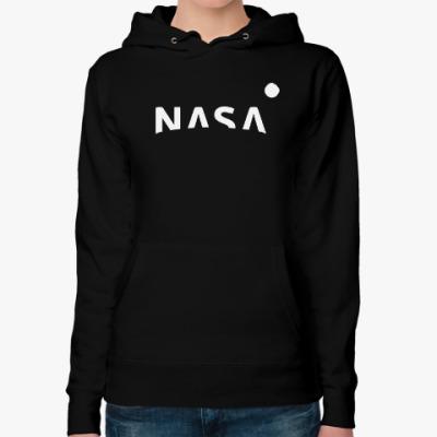 Женская толстовка худи NASA