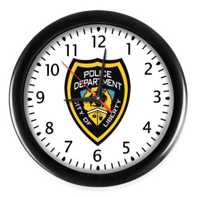 Настенные часы Gta liberty city (police)