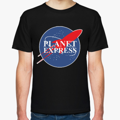 Футболка Межпланетный экспресс (Футурама)