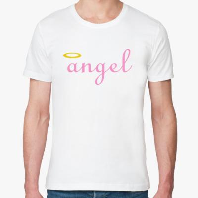 Футболка из органик-хлопка Ангел