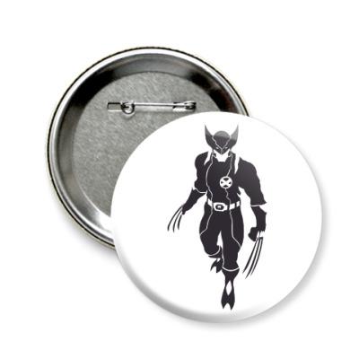 Значок 58мм Wolverine